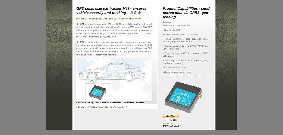 UCANC GPS Tracking